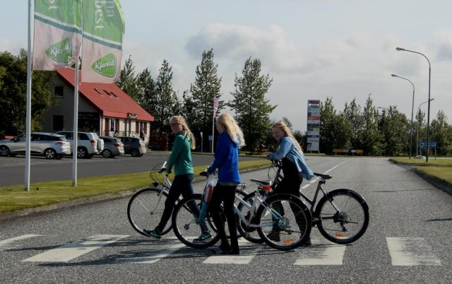 בחזרה מבית הספר , הטלה, איסלנד